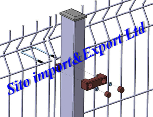 3D Fence Panel/Welded Wire Mesh Fence/Fence Netting