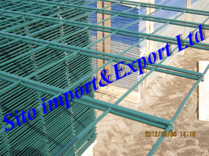 Wire Mesh Fence, Fence Panel, Double Wire Fence