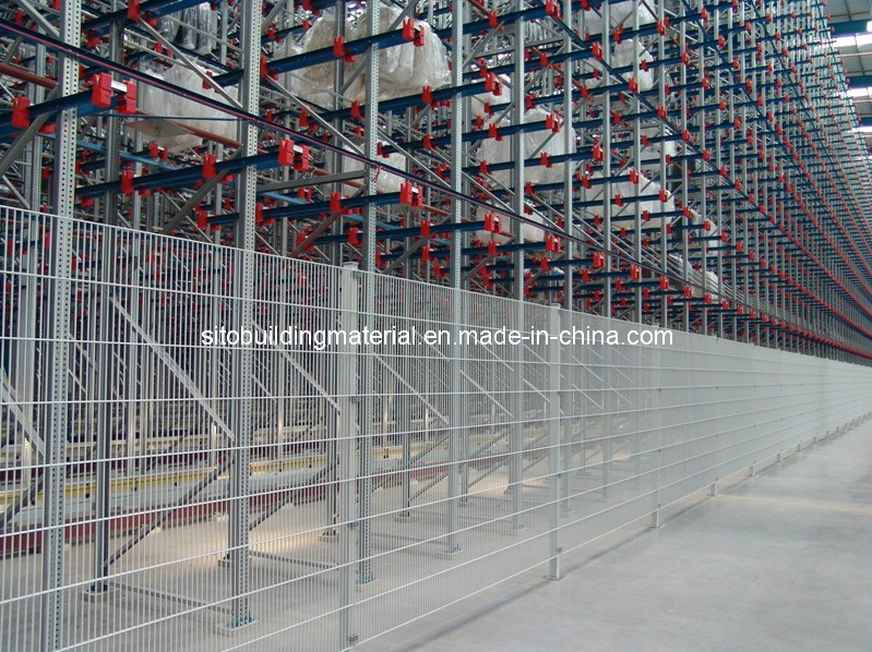 Welded Fence Panels/Double Wire Fence/Welded Wire Mesh Fence/Strong Fence/Hot-Dipped Fence Panel