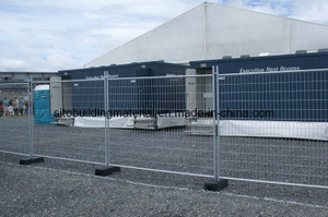 Crowded Control Fence/Temporary Fence Panel/Steel Pipe Fence