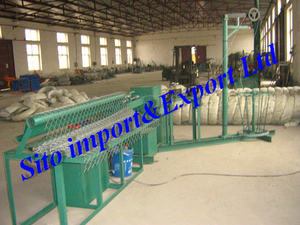Chainlink Fence Machine/Wire Mesh Fence Machine/Wire Mesh Equipment/Fence Netting Machine/Chailink Fence Equipment