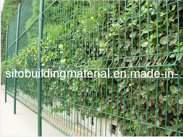 PVC Coated Galvanized Fence/Metal Wire Fence/Fence Netting/Fence Panel/Welded Wire Mesh Fence/Welded Wire Mesh