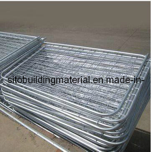 Welded Temporary Fence Panel/Crowded Control Fence/Temporary Fence/Steel Pipe Fence