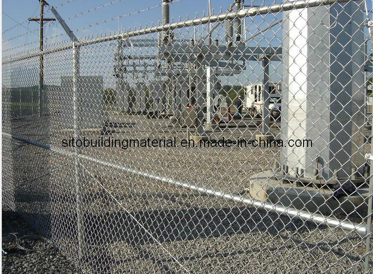 Hot-Dopped Fence Netting/Chain Link Fence/Wire Mesh Fence