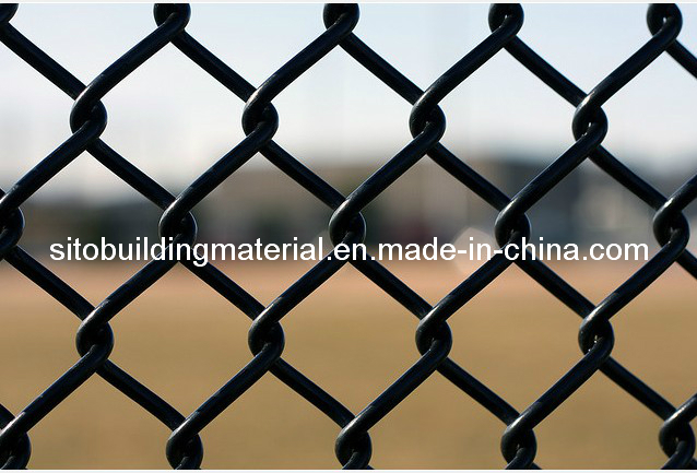PVC Coated Chain Link Fence/Chain Link Fence/Wire Mesh Fence